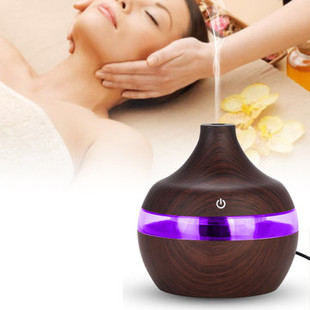 300ml Wood Grain Humidifier -US$34.99