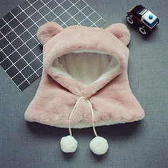 Kids Thick Hood Hat Scarves For 3Y-12Y-US$18.00