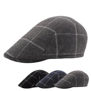 Lattice Cotton Beret Cap -US$9.20