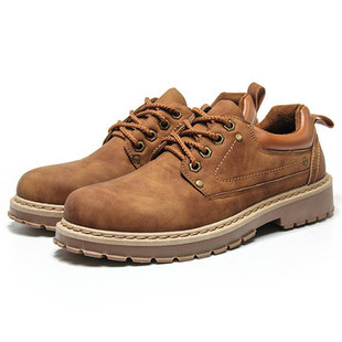 Men Non-slip Warm Casual Leather Shoes -US$26.92