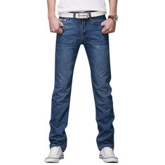 Straight Slim Fashion Jeans-US$19.99