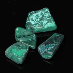 6pcs DIY Crystal Chrysocolla Tumblestones Tumbled Stones Healing Crystal Gemstone-US$6.26