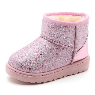 Girls Bling Vamp Keep Warm Comfy Snow Boots -US$18.28