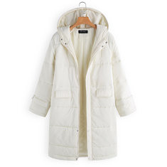Thick Hooded Cotton Coat -RM338.90