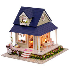 Bicycle Angle Wooden Dollhouse-US$45.54