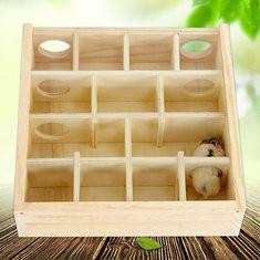 Wood Hamster Training Maze-US$18.75