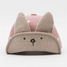 Cute Rabbit Baby Baseball Cap For 6-36M-US$12.00
