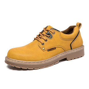 Men Round Toe Outdoor Work Style Shoes -US$28.75
