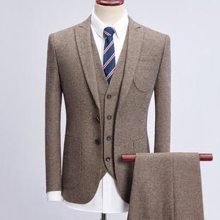 Mens Casual Elegant British Style Slim Blazer -US$131.18