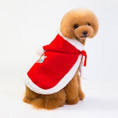 Christmas Pet Dog Cloak Costume-US$11.75