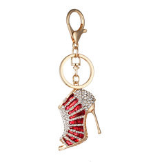 Colorful High-heeled Shoes Keychain-US$8.70