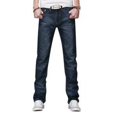 Denim Cotton Breathable Patchwork Jeans Pants-US$18.99