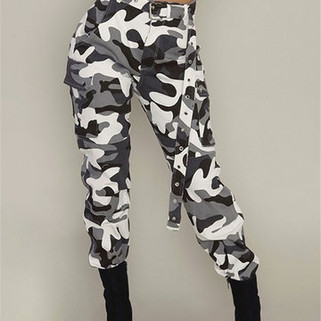 RM110.51 RM264.04  2 Camouflage Side Pockets Pants