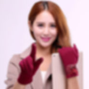 Women Velvet Thick Windproof Warm Touch Screen Full-finger Gloves Fitness Tactical Driving Gloves -RM37.42