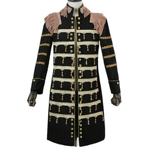 Metal Chain Court Blazers Knight Suit -US$115.69