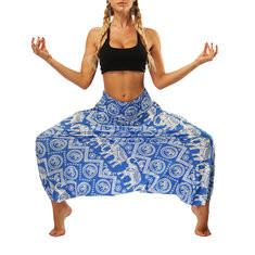 Folk Style Print Harem Pants-RM111.66
