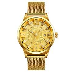 Business Quartz Gold Watches-RM227.35
