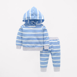 Stripe Kid's Clothing Set For 0-3 Years -US$18.99