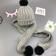 Kid's Beanies Hats Scarf Set For 1Y-5Y-US$20.00