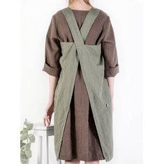 Vintage Side Pocket Dress-RM 93.93