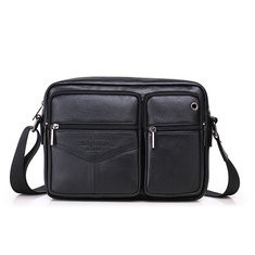 Men Genuine Leather Crossbody Bag -RM286.01