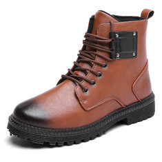 Men Vintage Outdoor Ankle Boots-RM185.10