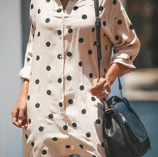 RM93.51 -Print Polka Dot Dress