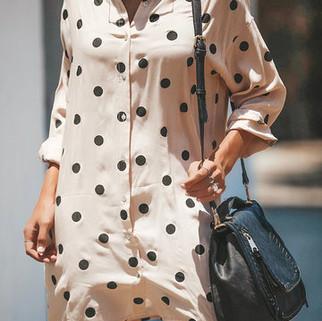 RM93.51 -Print Polka Dot Dress