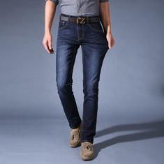 Mens Fashion Slim Stretch Straight Jeans-US$20.78