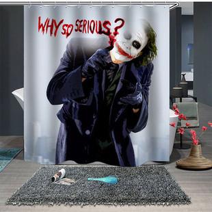 Creative Halloween Skull Shower Curtain -US$19.90