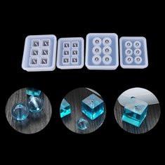 1Pcs 12mm/16mm Cube Beads DIY Molds-US$6.92