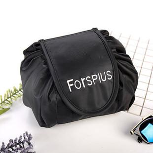 Black Drawstring Cosmetic Bag -RM78.65