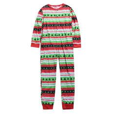 Christmas Tree Printed Family Matching Pajamas-RM 117.28