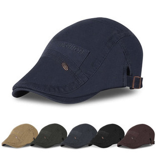Vintage Cotton Newsboy Cap -US$11.10