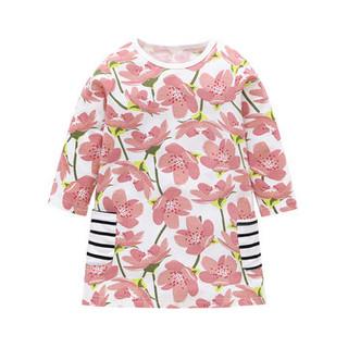 Flower Girls Pockets Dress For 2Y-9Y -US$15.99