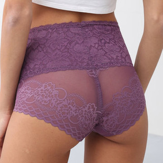 RM42.46-Sexy Hip Lifting Lace Panties