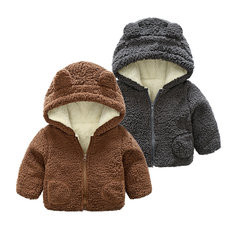 Warm Thick Fleece Coat For 0-36M-RM98.58