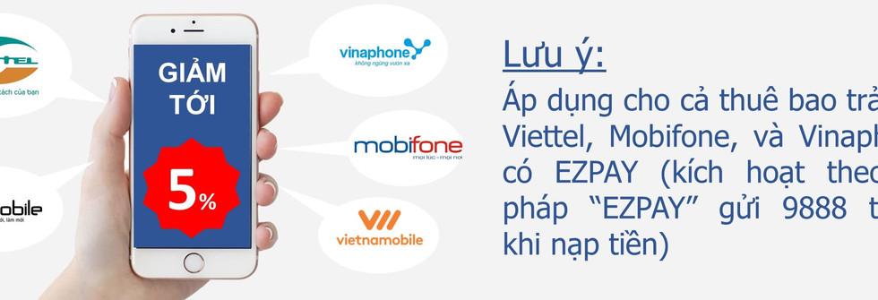 Vietnam - Mobiles Top Up
