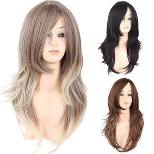 Gradient Side Bang Hair Wig -US$22.76