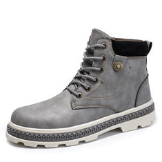Men Outdoor Slip Resistant Casual Ankle Boots-RM135.88