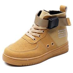 Unisex Side Zipper Sport Shoes
