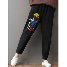 Cartoon Print Casual Pants-RM214.76