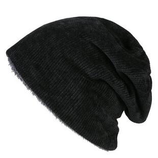 Wool Plus Velvet Beanie -US$10.55