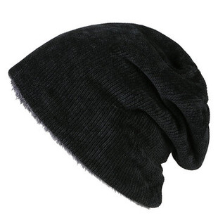 Wool Plus Velvet Beanie -US$10.55