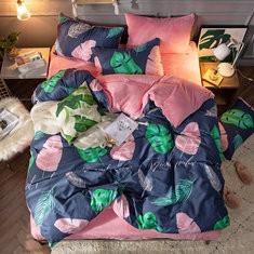 3/4 Pcs Cotton Flannel Bedding Set-RM384.37 ~ 533.95