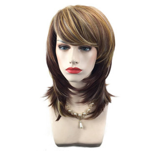 Heat Resistant Synthetic Wigs -US$31.97