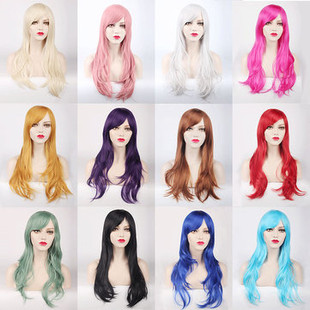 US$25.43- 70CM Long Synthetic Costume Cosplay Wig Hi