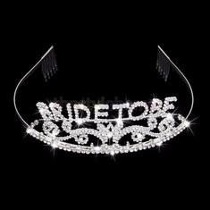 Wedding Headband Bachelorette Sparkle Tiara Hen Party Crown Bride Bridal Shower Supply-RM47.16