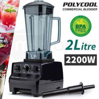 【100% DESIGNED IN USA】Riverside TurboMAX® 2200Watt Professional Commercial Kitchen Multipurpose Super Heavy Duty Premium Powerful Heating Nutrition Juice Dry Ice BLENDER Crusher Cutter 3 Turbo Horsepower+MALAYSIA 3-PIN PLUG+2 YEAR INTERNATIONAL WARRANTY RM155.90