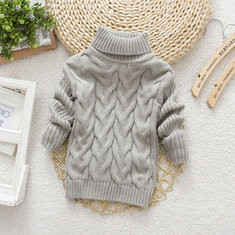 Girls Turtleneck Sweater For 2Y-11Y-US$20.99